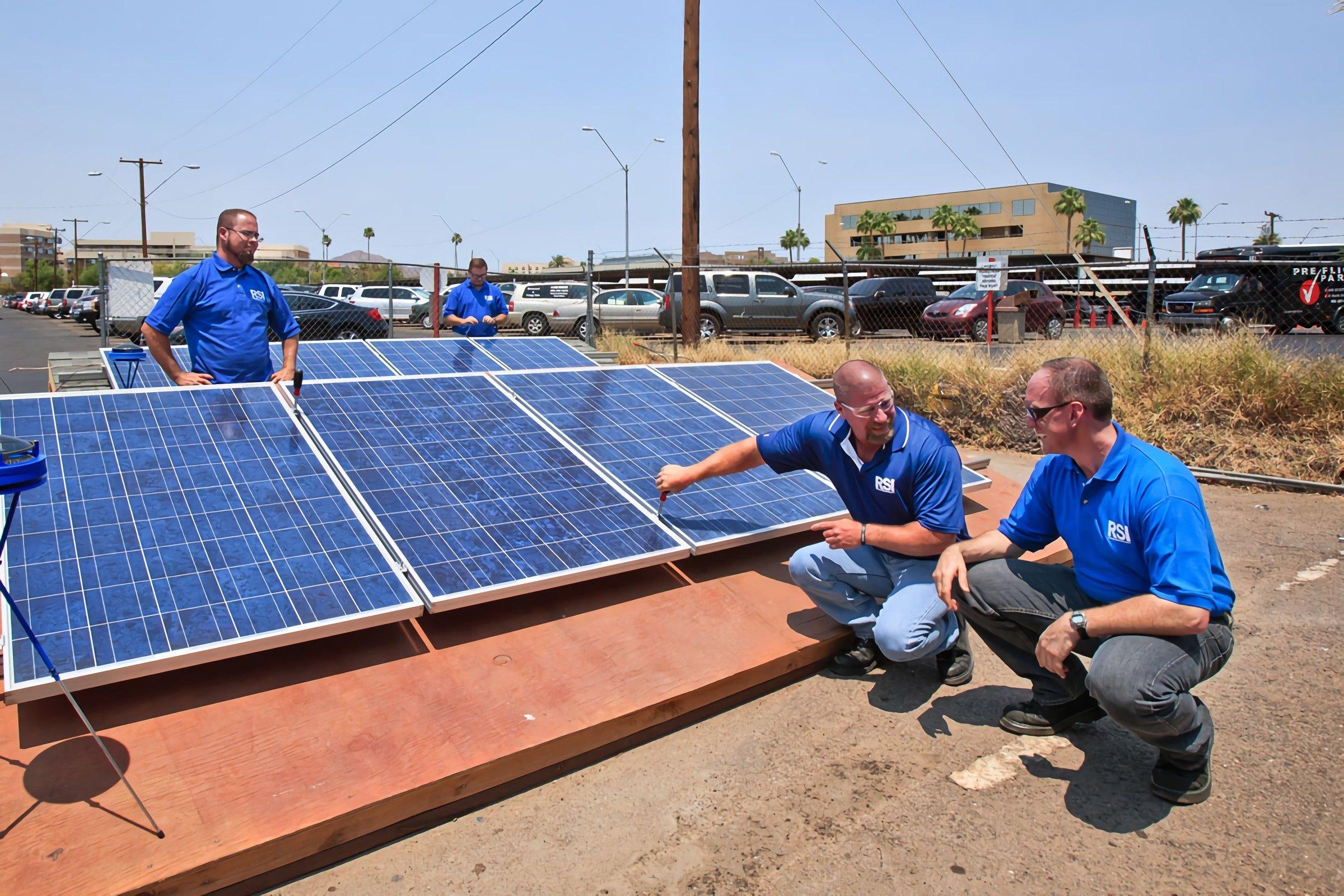 RSI Refrigeration School Training Phoenix Equipment Solar