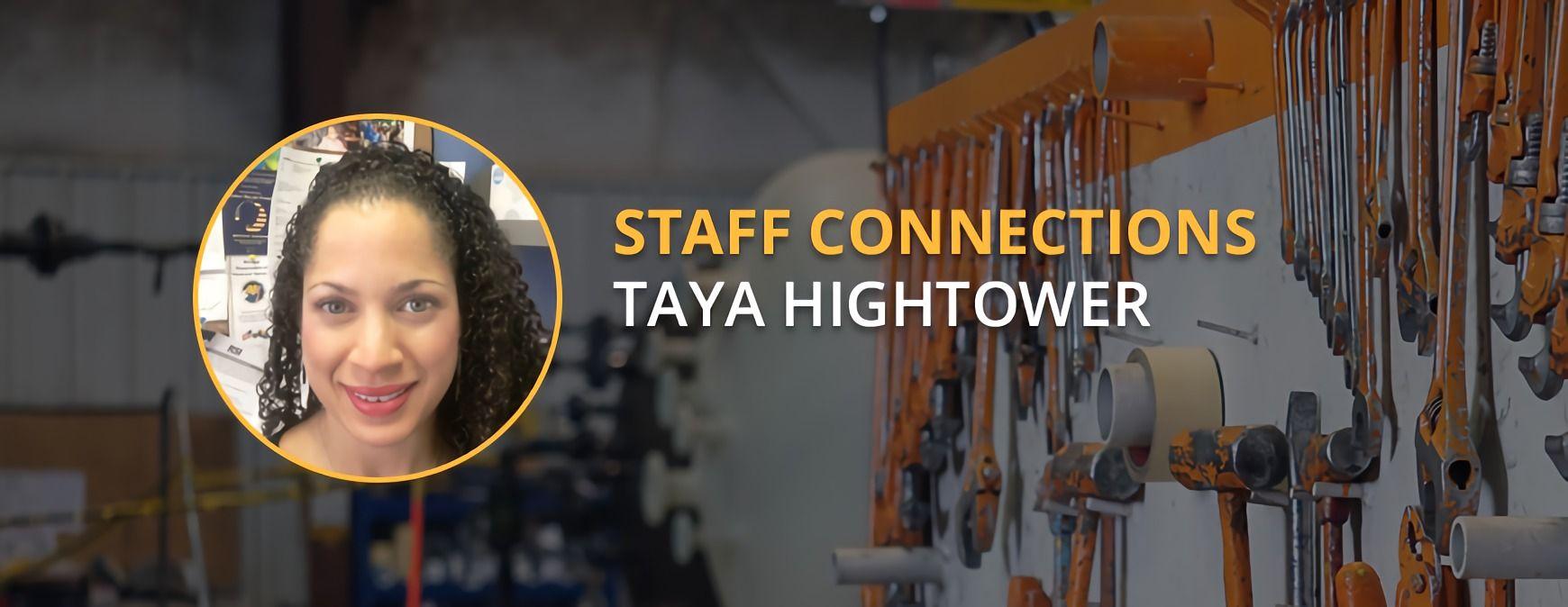 taya hightower staff connections