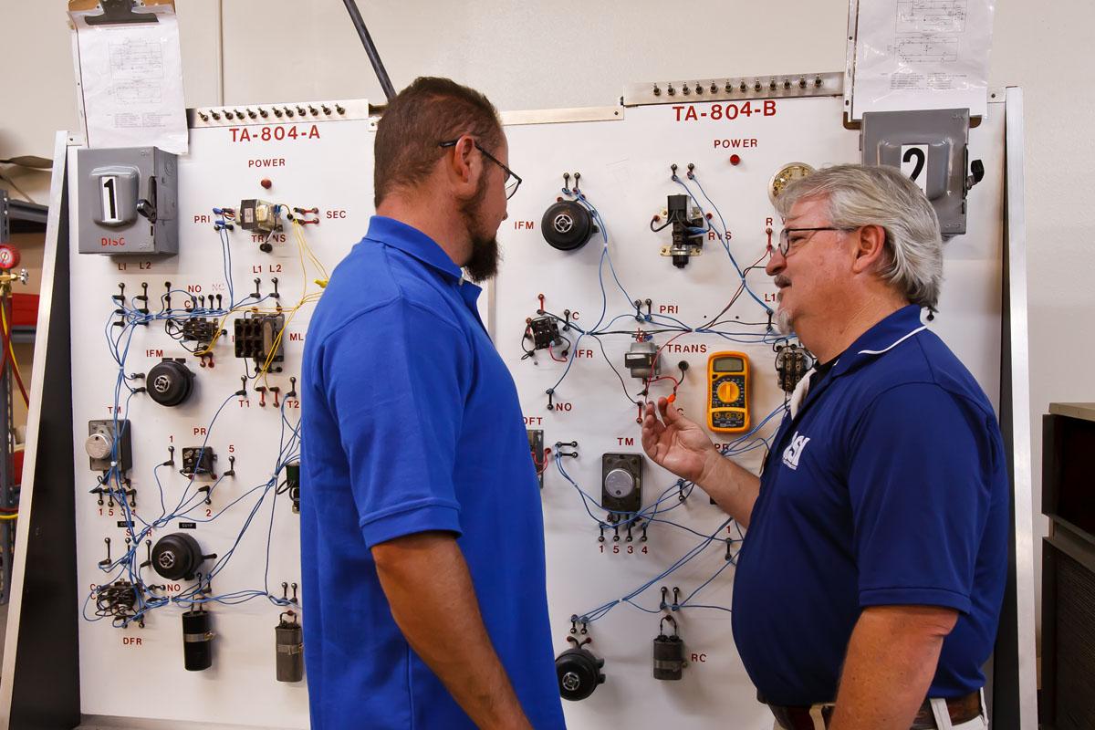 Wiring Diagram Student Training Refrigeration School Inc Rsi L1 L2 Phoenix Equipment