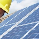 Solar Panel Installation Tech