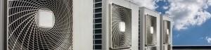HVAC system on roof