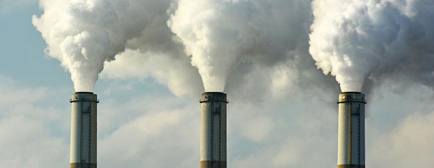 carbon dioxide environment