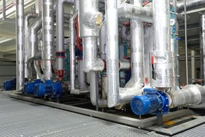 complex coolant system