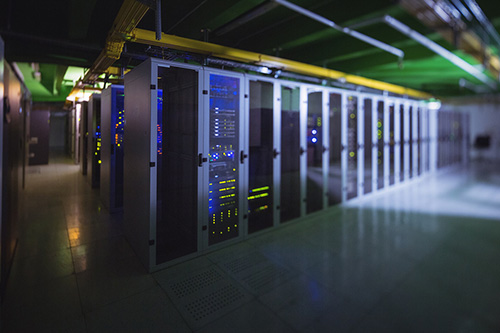 commercial cooling in server room