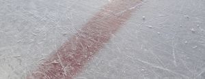 hockey rink ice