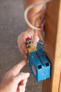 electrical training closeup