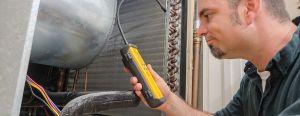 fixing refrigerant leak