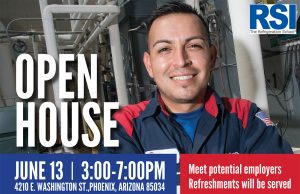 RSI Open House Graphic