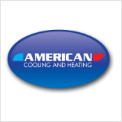 american cooling and heating logo