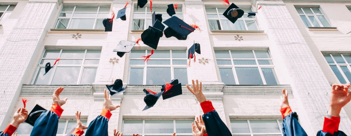 college students graduating