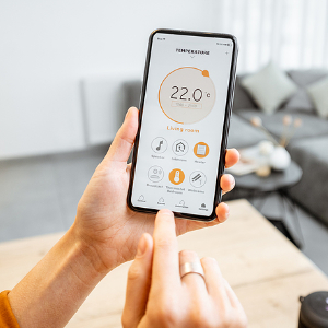 controlling hvac with phone