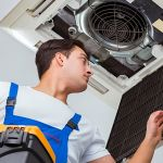 hvac maintenance with filter