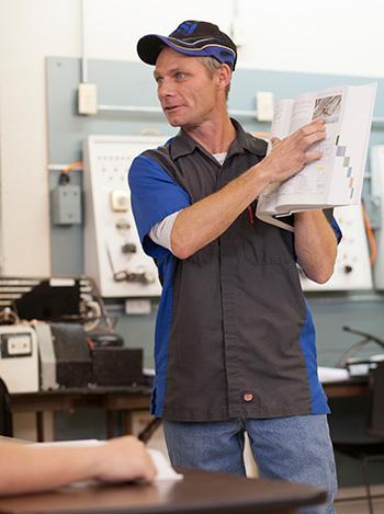 hvac professional teaching class