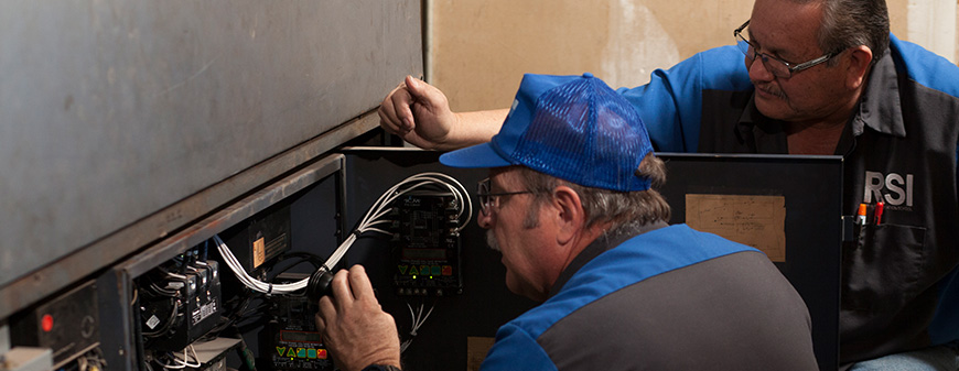 learning how to service hvac