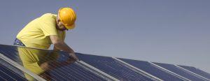 solar panel installation technician