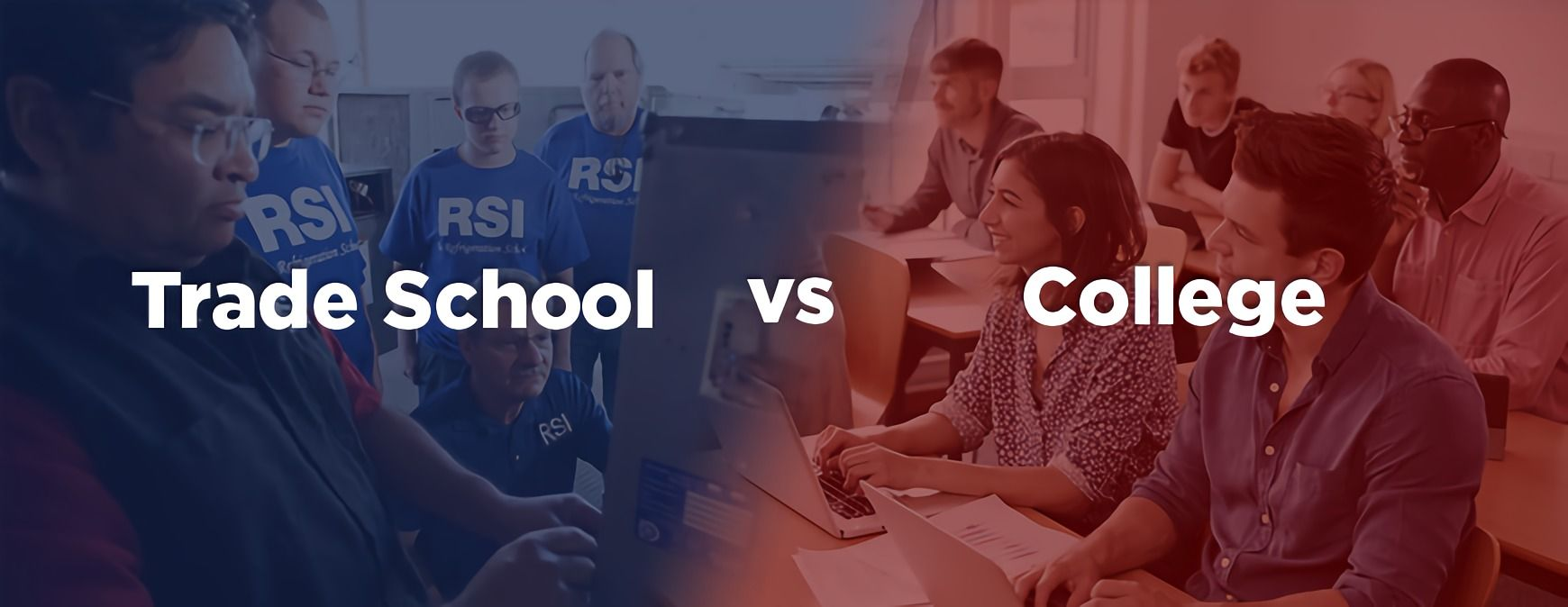 trade school vs college pros and cons