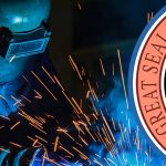welder and arizona state seal