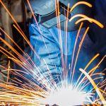 welder using gas tungsten